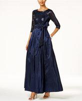 Jessica Howard Sequined Taffeta Ball Gown