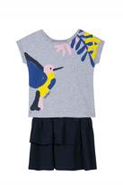 Jean Bourget Hummingbird Dress