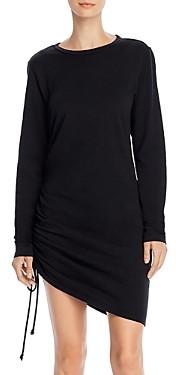 Pam & Gela Side-Ruched Shift Dress