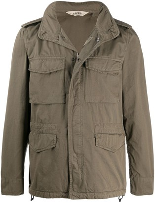 Aspesi Four-Pocket Padded Jacket