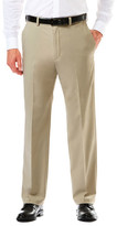 Haggar Cool 18 Pro - Classic Fit, Flat Front, Hidden Expandable Waistband