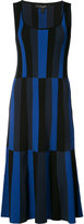 Derek Lam striped scoop neck dress - women - Polyester/Viscose - XS