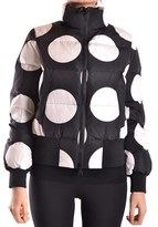 Moschino Women's White/black Polyester Down Jacket.