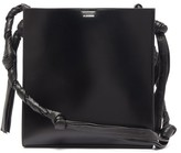 Jil Sander Tangle Braided-strap Leather Shoulder Bag - Womens - Black