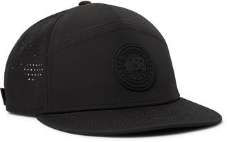 Canada Goose Logo-Appliqued Perforated Shell Baseball Cap