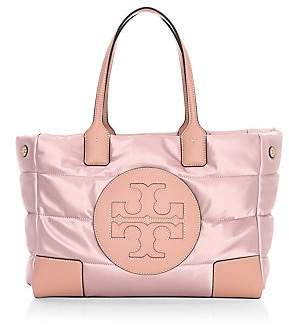 Tory Burch Women's Ella Quilted Satin Tote