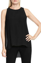 Vince Camuto Petite Sleeveless Solid Top