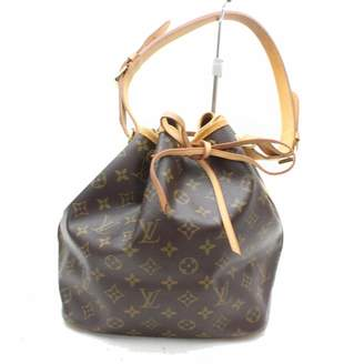 Louis Vuitton Vintage Noe Brown Leather Handbag