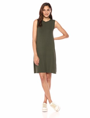 Daily Ritual Jersey Mcle Swing Dress Casual