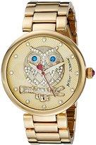 Betsey Johnson Women's BJ00468-02 Analog Display Quartz Gold Watch