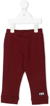 Emporio Armani Kids Slim Fit Track Pants