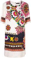 Etro - robe droite à fleurs
