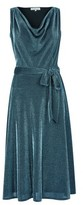Dorothy Perkins Womens **Billie & Blossom Teal Cowl Neck Midi Dress