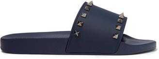 Valentino Garavani Rockstud Rubber Slides