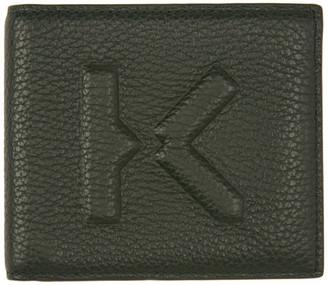 Kenzo Khaki Imprint Wallet