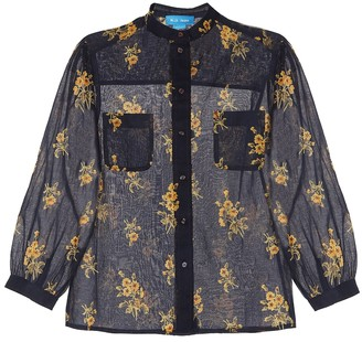 MiH Jeans Lili floral cotton shirt