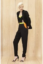 Milly Colorblock Bustier Jumpsuit
