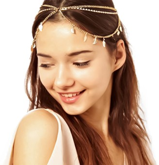 Metme Vintage Bling Head Chain Jewellery Headbands Flapper Headpiece Accessories with Rhinestone Pendant for Women Gift Free Size