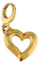 Michele 18K Heart Pendant