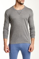 Bottoms Out Crew Neck Long Sleeve Tee