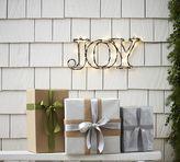 Pottery Barn Lit Sentiment - Joy