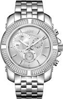 JBW Men's J6331B Warren Analog Dial Stainless Steel Watch