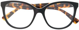 Valentino Eyewear Cat-Eye Frame Glasses