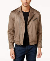 INC International Concepts Men's Faux-Suede Moto Jacket, Created for Macy's
