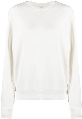 Closed Rib-Trimmed Cotton Sweatshirt