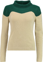 J.W.Anderson Two-tone ribbed-knit sweater