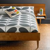 Orla Kiely Giant stem flannel housewife pillowcase