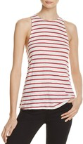 Frame Army Tank in Rusted Berry and Natural Stripe - 100% Exclusive