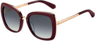 Kate Spade Kimorags Butterfly Acetate Sunglasses
