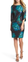 Gabby Skye Women's Floral Print Shift Dress