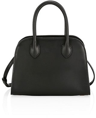 The Row Mini Margaux Leather Bag