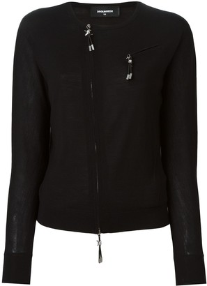 DSQUARED2 Zip Accent Pullover