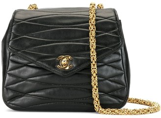 Chanel Pre Owned 1992 Quilted Crossbody Bag