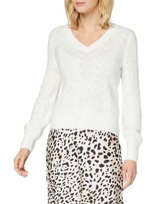 Morgan Women's Pull Boutonne Dos Mpasia Sweater