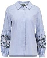 Mint Velvet EMBROIDERED SLEEVE Shirt stripe