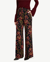 Ann Taylor The Petite Trouser Pant in Rose Garden