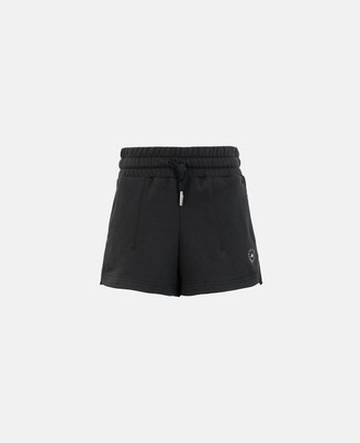 adidas by Stella McCartney Stella McCartney black sweat fleece short