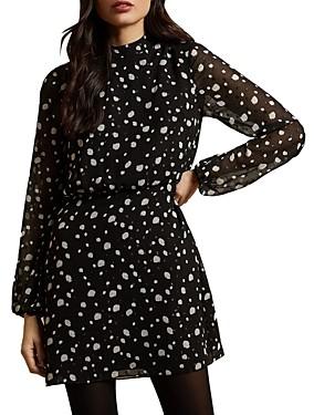 Ted Baker Floelle Dot Print Dress