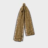 Paul Smith Women's 'Leopard' Print Cashmere-Blend Scarf