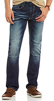 Buffalo David Bitton Ash-x Slim Fit Moto Jeans