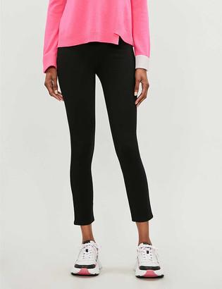 Spanx 4-Pocket high-rise skinny stretch-ponte trousers