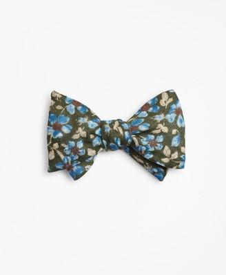 Brooks Brothers Vintage Flower Bow Tie