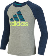 adidas Little Boys' Graphic-Print Long-Sleeve T-Shirt