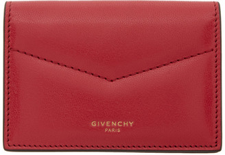 Givenchy Red Edge Card Holder