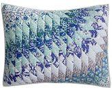 Pier 1 Imports Starburst Blue Standard Pillow Sham