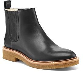 Botkier Women's Chelsea Leather & Faux-Fur Booties